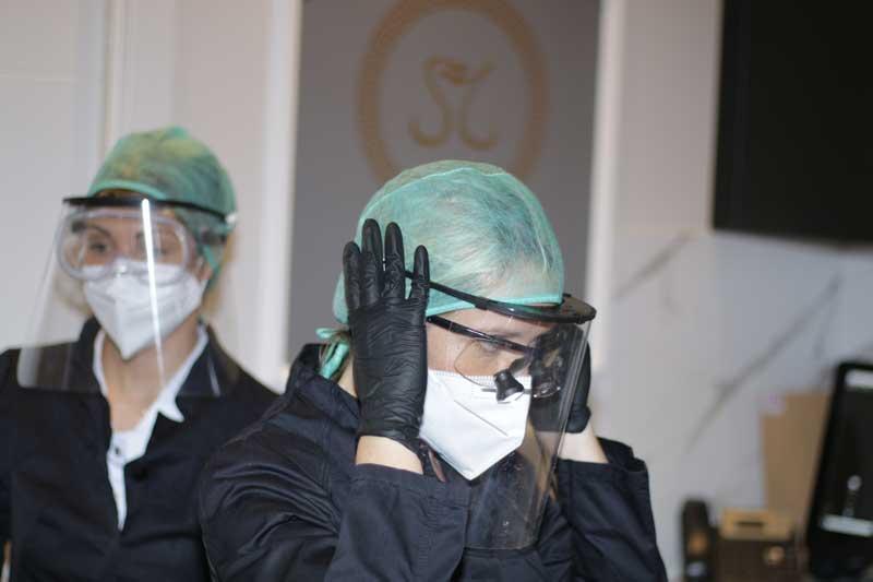 medidas de seguridad contra coronavirus
