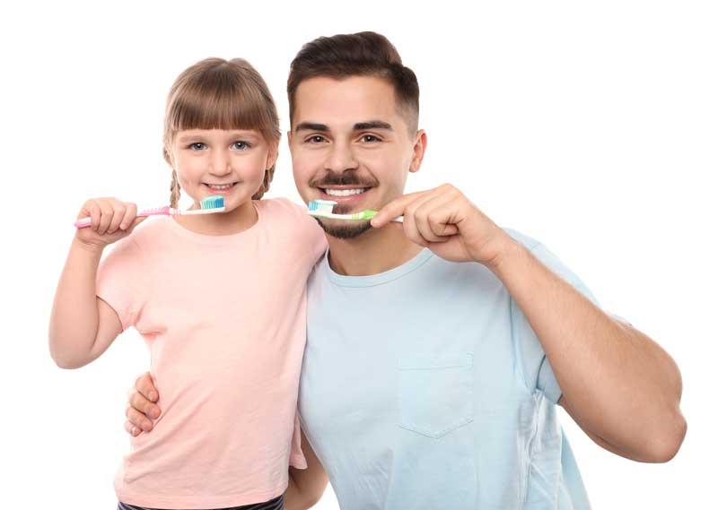 Higiene dental infantil y aprendizaje