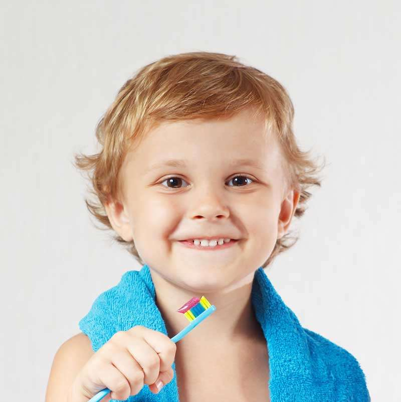 Una mala higiene dental infantil